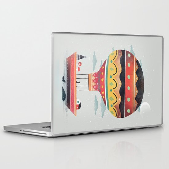 Fly me to the Moon Laptop & iPad Skin