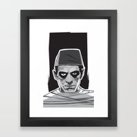 Imhotep Framed Art Print