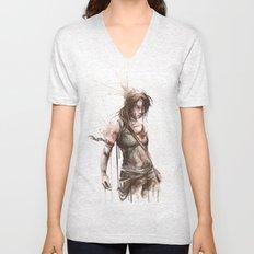 Lara Unisex V-Neck