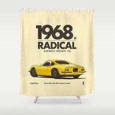 1968 Shower Curtain