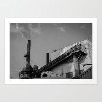 Dirty Industry Art Print