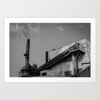 Dirty Industry Art Print