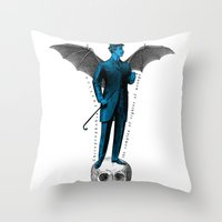 the complex of righter of wrongs Throw Pillow