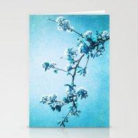 BLUE SPRING Stationery Cards