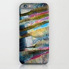 Paint Brushes Slim Case iPhone 6s