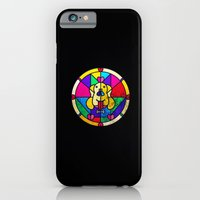 Stained Glass Dog iPhone 6 Slim Case