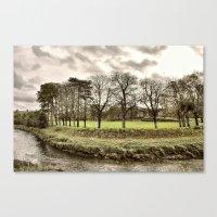 Pilton Park  Canvas Print