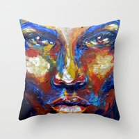 Blow By Carographic Throw Pillow
