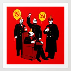 Communist Party II: The Communing Art Print