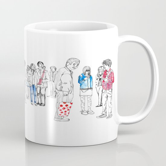 In Moments of Waiting Mug