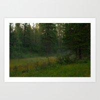 Magical Mist Art Print