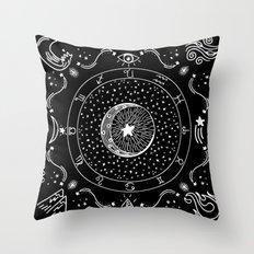 Zodiac Bandana Throw Pillow