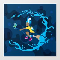 Inkling Delivery Service Canvas Print