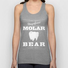 Molar Bear (Gentlemen's … Unisex Tank Top