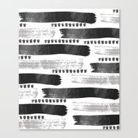Brush Strokes #2 Canvas Print