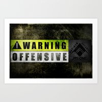 Lockout: Warning Offensive (MS-ONE) Art Print