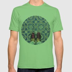 Art Beneath Our Feet - Ancona, Italy  Mens Fitted Tee Grass SMALL