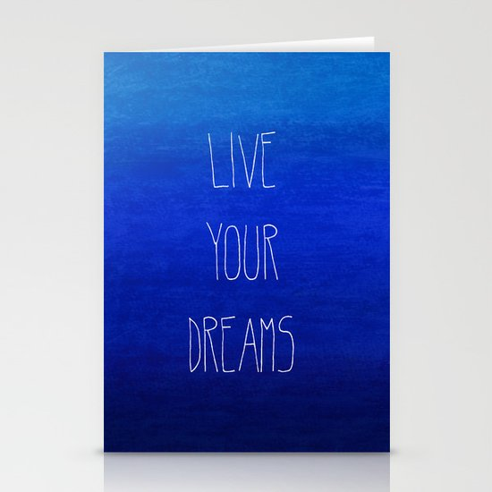 Dream Stationery Card