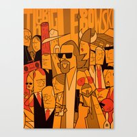 The Big Lebowski Canvas Print