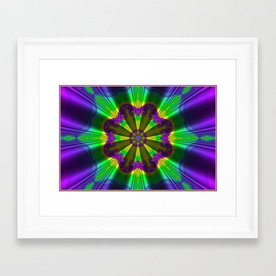 Silk Parasol Framed Art Print