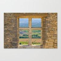 Window To The Luberon Canvas Print