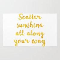 scatter sunshine Rug