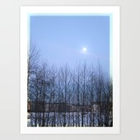 Winter Sky 2013 Art Print