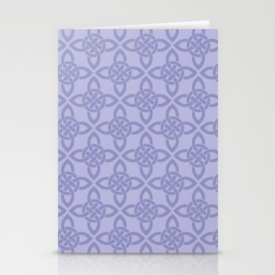Northern Knot Pattern Stationery Card