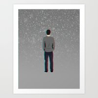 Lonely Boy  Art Print