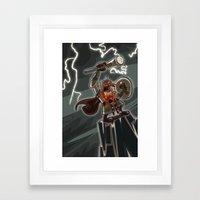 Bolt Thundersmite- Versi… Framed Art Print