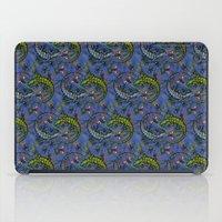 Lizzards Pattern. iPad Case