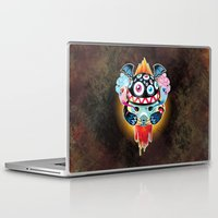monster Laptop & iPad Skins featuring Monster by HOOKEEAK