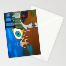 Untitled self portrait Stationery Cards