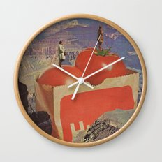 a woman's place Wall Clock