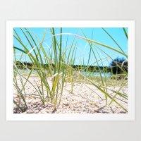 Beach Bliss Art Print