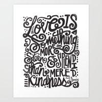 LOVE IS MORE STERN & SPL… Art Print