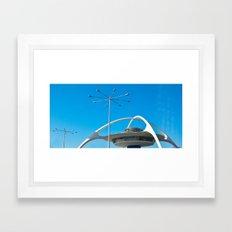 LAX Framed Art Print