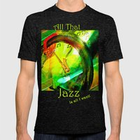 All That Jazz! Mens Fitted Tee Tri-Black SMALL