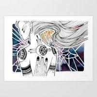 Totem I Art Print
