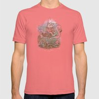 Journey Through The Garden Mens Fitted Tee Pomegranate SMALL