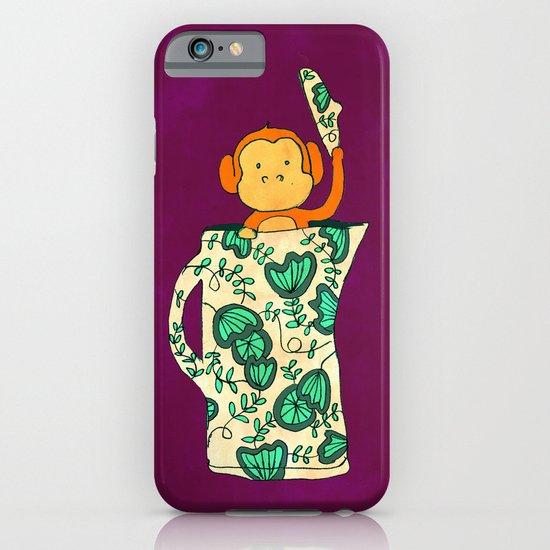 Dinnerware sets - Monkey in a jug iPhone & iPod Case
