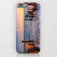 Rushing Waves At Sunset iPhone 6 Slim Case
