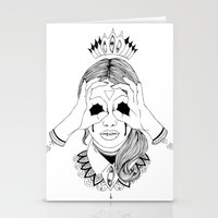 Void In Your Eyes Stationery Cards