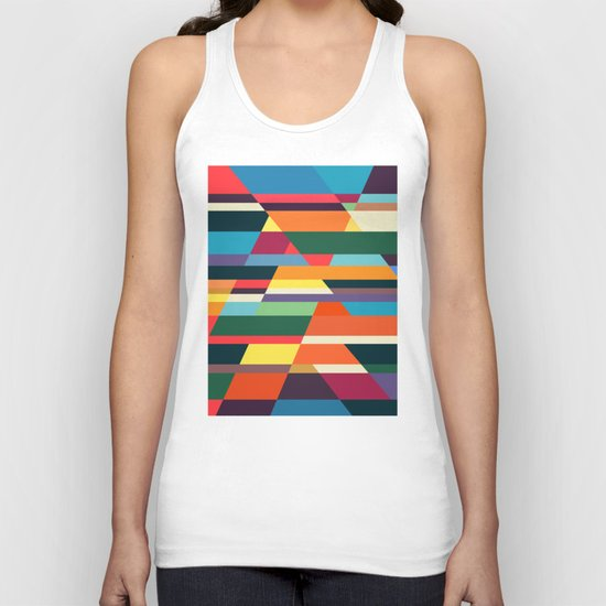 The hills run to infinity Unisex Tank Top