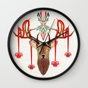 deer rope  Wall Clock