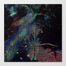 Psychedelic Forest.... Canvas Print