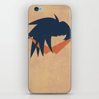 Minimalist Kamina iPhone & iPod Skin