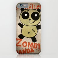iPhone & iPod Case featuring ZombiePanda by ASTRA ZERO
