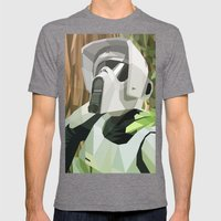 Scout Trooper Mens Fitted Tee Tri-Grey SMALL
