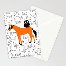 Owl Unicorn Stationery Cards